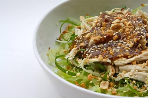 Bang bang chicken dish
