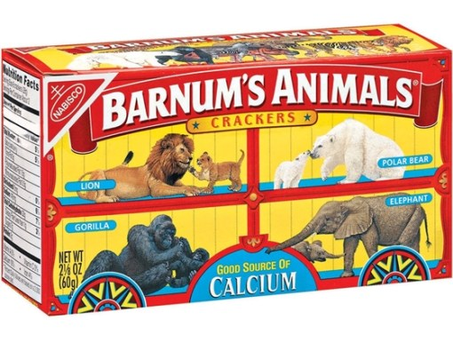 Box of Barnum's Animal Crackers
