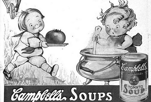 vintage Campbell's Soup kids ad