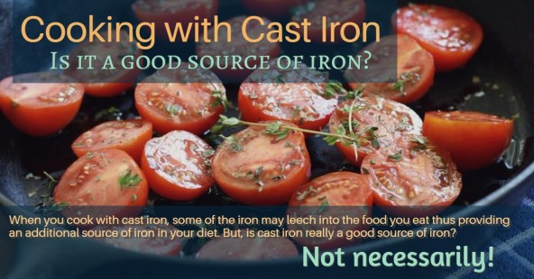 is cooking in cast iron a good source of iron