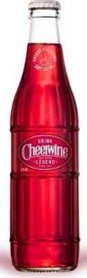 cheerwine glass bottle