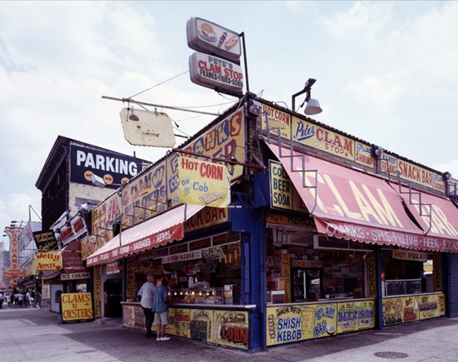 Coney Island Food vendors