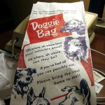 doggie bag, original from Bagcraft