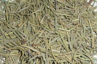 dried rosemary closesup