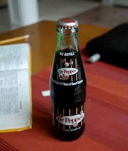 Original Dr Pepper formula 'Dublin'
