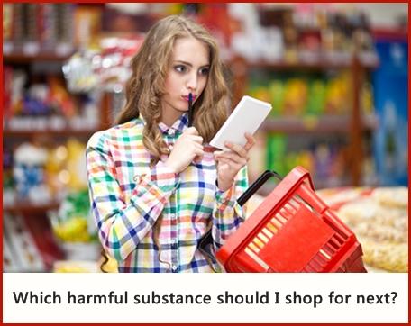 shopping dangerous chemicals, image © dina777