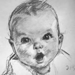 Was Humphrey Bogart the Model for the Gerber Baby?