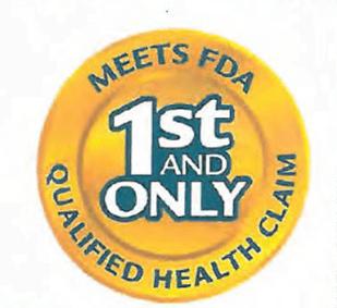 Gerber Gold seal qualified FDA health claim