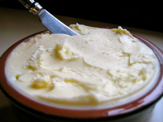 homemade churned butter