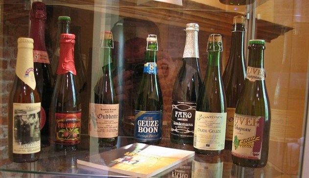Lambic Belgium beers which improve with age