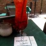 Hurricane cocktail at Pat O'Brien's