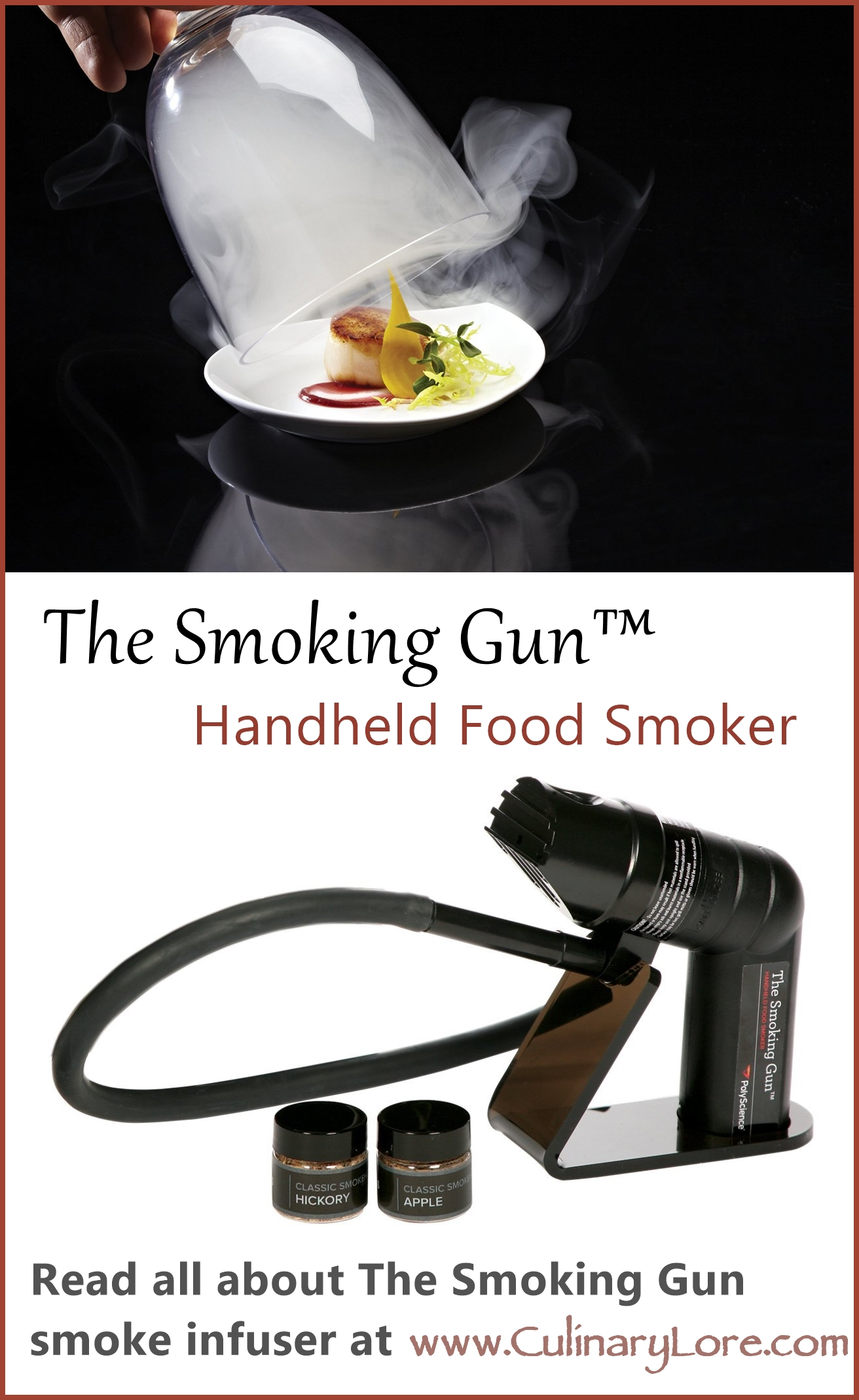 The Smoking Gun Handheld Food Smoker infuser
