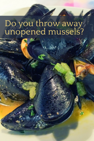 Should you really throw away unopened mussels and clams?