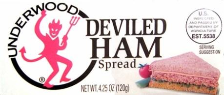 Underwood Deviled Ham logo trademark