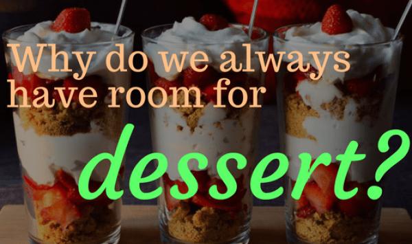 always room for dessert