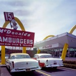 The McDonald's museum replica of first McDonald's