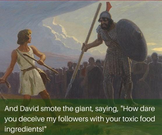 the Goliath effect