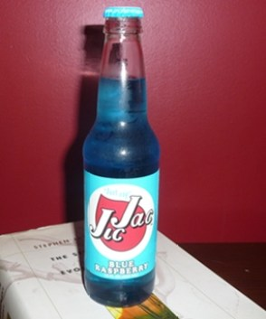 Jic Jac Blue Raspberry soda