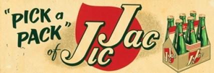 vintage 'Pick Jic Jac' soda ad
