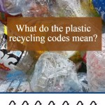 what do the plastic recycling codes mean