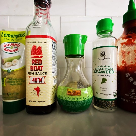 Asian Condiments