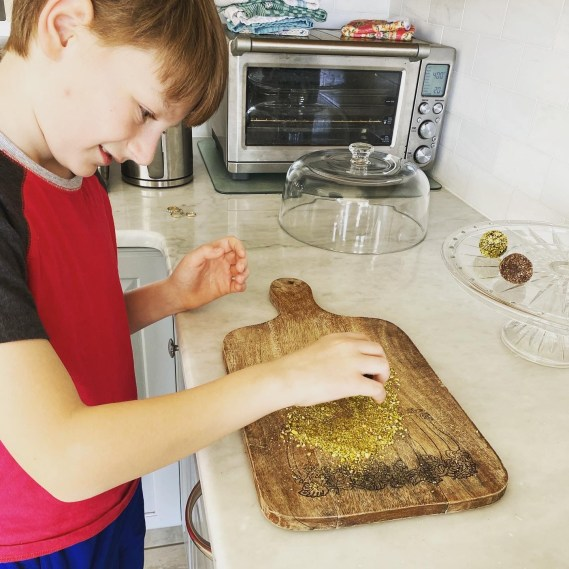 Jacob making truffles 1