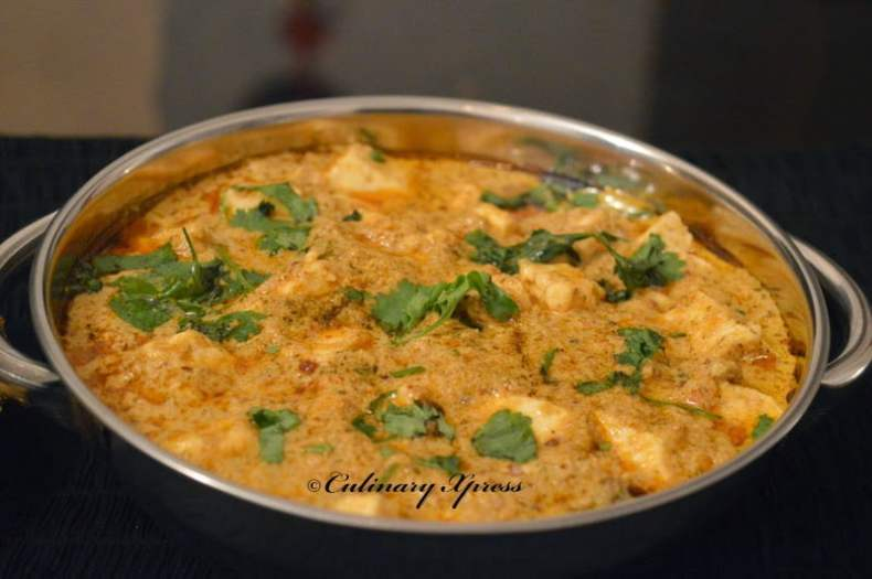 Shahi paneer without onion garlic recipe culinaryxpress shahi paneer without onion garlic forumfinder Choice Image