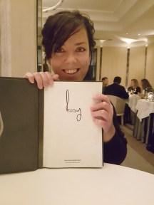Im Restaurant Gordon Ramsay in London