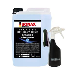 SONAX PROFILINE Brilliant Shine Detailer 5L + SONAX Spray Boy at Cullen Car Care - Detailing Products in Ireland