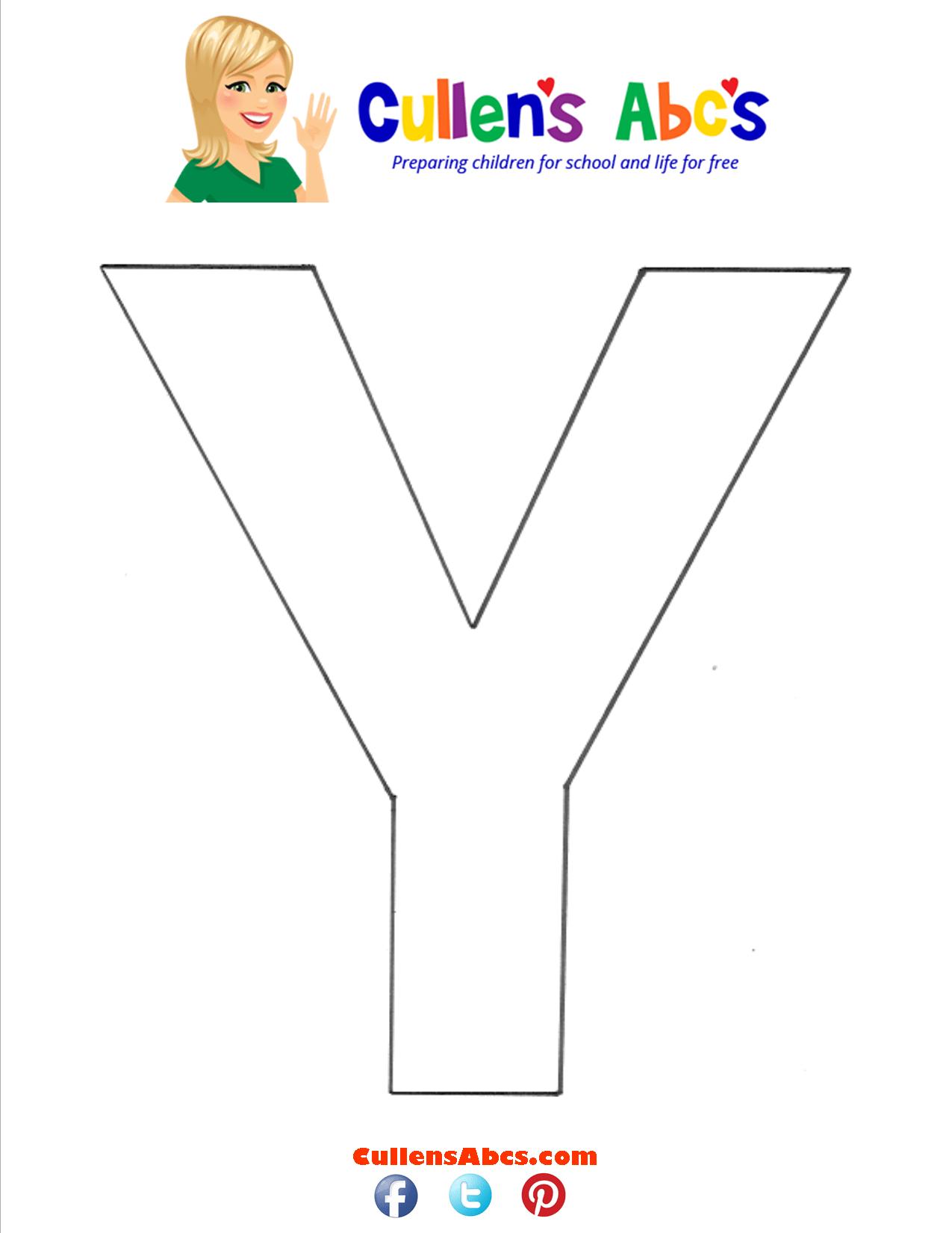 Letter Y Uppercase