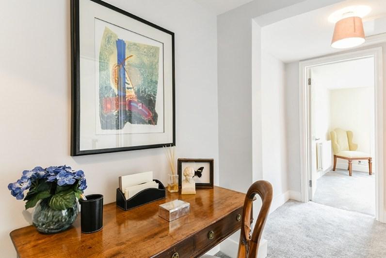 Interior styling a Hackeny Flat, Cullum Design