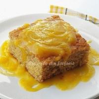 Prajitura de mere si sos de lamaie
