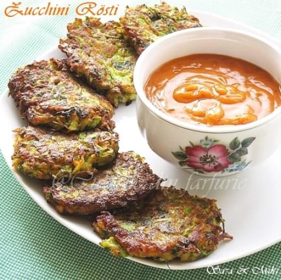 Zucchini Rösti 2