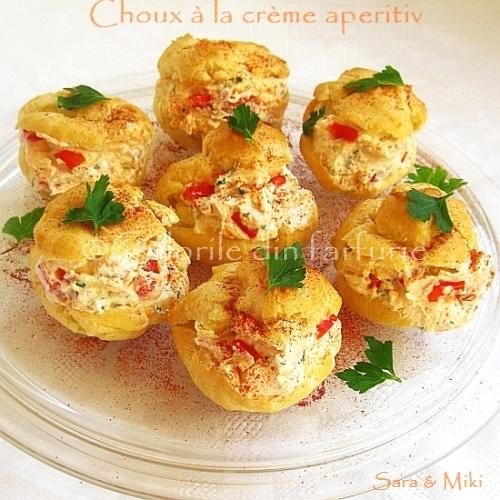 Choux à la crème aperitiv 3