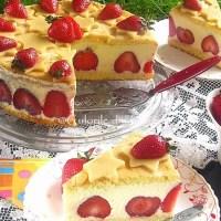 Tort Fraisier / Tort cu capsuni