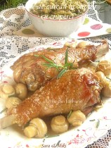 Pulpe-de-curcan-la cuptor-cu-ciuperci-0