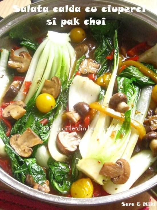 salata-calda-cu-ciuperci-si-pak-choi-1