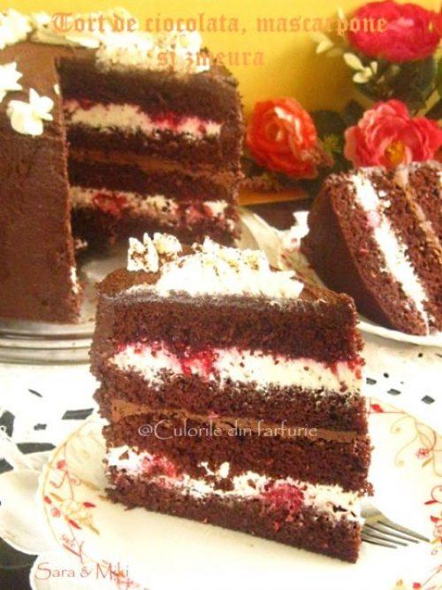 tort-de-ciocolata-mascarpone-si-zmeura-4