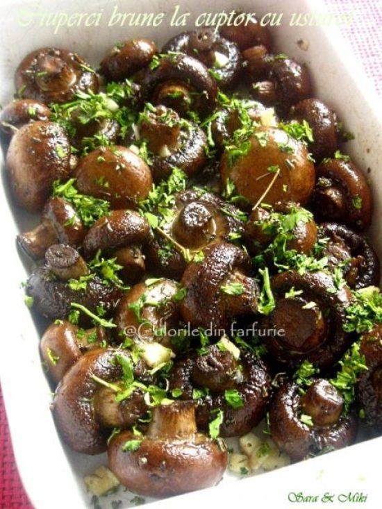 ciuperci-brune-la-cuptor-cu-usturoi-1