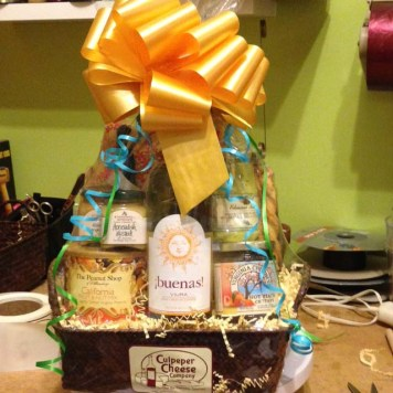 Culpeper Cheese Gift Basket
