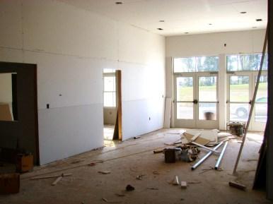 Foyer Dry Wall