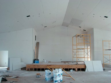 Stage Dry Wall