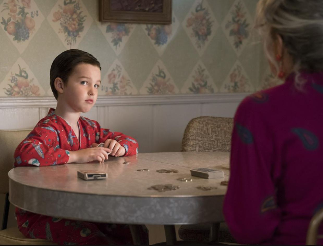 Young Sheldon Synopsis Promo Amp Photos For Episode 3 Poker Faith And Eggs Spoilers