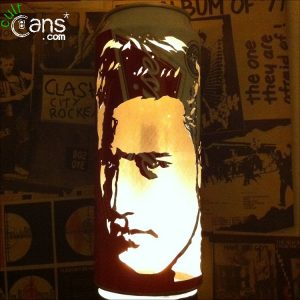 Elvis Presley Beer Can Lantern