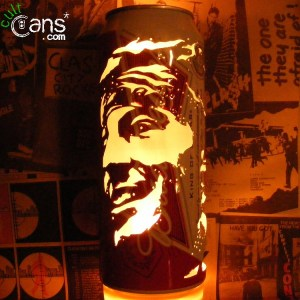 Bruce Springsteen Beer Can Lantern
