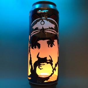 Lemmy Kilmister Beer Can Lantern