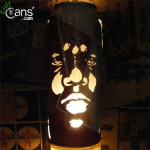 Notorious B.I.G 'Biggie Smalls' Beer Can Lantern