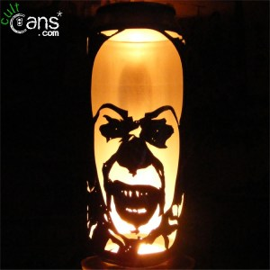 Pennywise The Clown Beer Can Lantern