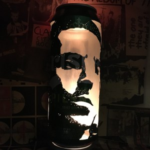 Liam Gallagher Beer Can Lantern, Why Me? Why Not