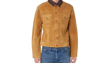 Levi's Vintage Clothing 1950's Suede Trucker Jacket